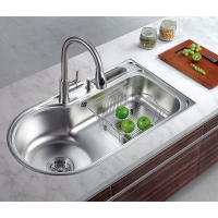 Over/Top mount Single Bowl Stainless steel 304 Sink AT-8651